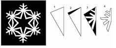 Instructions on how to cut out paper snowflakes Types Of Textiles, Arts And Crafts, Paper Crafts, Paper Snowflakes, Snowflake Pattern, Student Gifts, Kirigami, Christmas Inspiration, Suncatchers