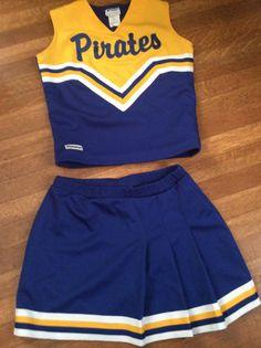 Vintage Cheerleading Uniform / Cute Cheerleading Uniform / Cheerleader Halloween Costume