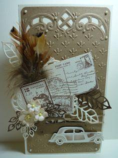 Anja Design: Een mannenkaart....