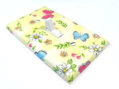 Yellow Butterfly Light Switch Cover Nursery by ModernSwitch, $6.00