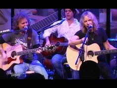 Jack Blades (Night Ranger, Damn Yankees) and Tommy Shaw (Styx, Damn Yankees) played a great set at the 2009 NAMM show. Cartoon Network Adventure Time, Adventure Time Anime, Tommy Shaw, Night Ranger, Great Music Videos, Taylor Guitars, Damn Yankees, Live Taylor, Rocker Chick