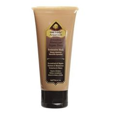 One 'n Only Argan Oil Restorative Mask 3 oz. Argan Oil Hair Spray, Argan Oil Mask, Pure Argan Oil, Moisturizing Hair Mask, Barber Supplies, Free To Use Images, Sally Beauty, Hair Restoration, Deep Conditioner