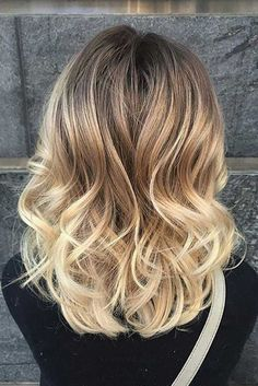 Blonde Ombre Hair And#8211; Best Color Ideas for This Season ★ See more: http://lovehairstyles.com/hottest-blonde-ombre-hair-color-ideas/