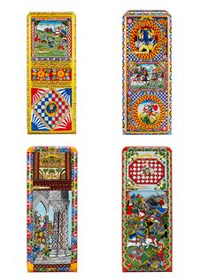 Dolce Gabbana and Smeg Collaborate On A Luxe Line of Fridges : Elle.  240hours hand painted. £30,000 each.