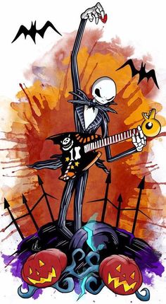 Mygiftoftoday has the latest collection of Nightmare Before Christmas apparels, accessories including Jack Skellington Costumes & Halloween costumes . Jack Tim Burton, Arte Tim Burton, Tim Burton Style, Tim Burton Films, Halloween Drawings, Halloween Painting, Halloween Art, Arte Disney, Disney Art
