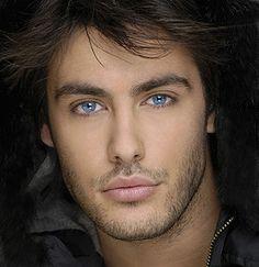 Kostas Martakis, I love his beautiful blue eyes.