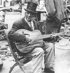 Johnny Watson (4/12/1867-11/1/63 1963), blues singer, guitarist and harmonica player, best known for his recordings under the name Daddy Stovepipe. Watson also recorded as Jimmy Watson, Sunny Jim and Rev. Alfred Pitts. He may have been the earliest-born blues performer to record. Many of his recordings were jug band duets with his wife, Sarah Watson, who was usually credited as Mississippi Sarah.