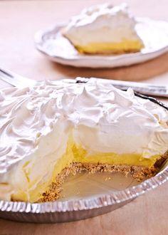 Easy No Bake Lemon Cream Pie