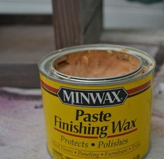 """I love Minwax Paste Finishing Wax because it gives the wood a beautiful polish but does not affect the color."""