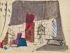 * Margot, 1935. Ancienne collection Boris Kochno. Comédie en deux actes et treize tableaux d'Edouard Bourdet - Christian Bérard