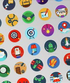 35 Seo Modern Icons — Photoshop PSD #reputation #web designer • Available here → https://graphicriver.net/item/35-seo-modern-icons-/14945697?ref=pxcr
