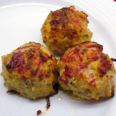 Diet Recipes HCG Phase 2 Jeremy's Chicken Meatballs Recipe by JWLIONKING via - Delicious Meatballs safe for Phase 2 of the HCG Diet. This will count for your protein and vegetable. 3 Meatballs per serving. Baked Chicken Meatballs, Chicken Meatball Recipes, Turkey Meatballs, Hcg Diet Recipes, Cooking Recipes, Healthy Recipes, Pork Recipes, Phase 2 Hcg Recipes, Baked Chicken