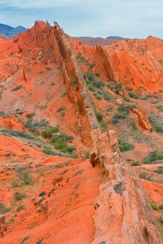 Sharing some pictures of Kyrgyzstan before I can share mines as I am currently traveling there! - Fairy tale canyon, Issyk-kul, Kyrgyzstan - August 2013... by Michal Bosina