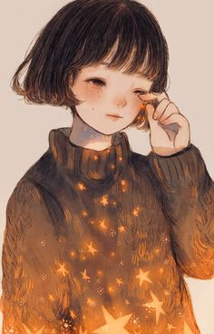 Pixiv Id 13779200 Image - Zerochan Anime Image Board Manga Girl, Anime Art Girl, Colorful Drawings, Cute Drawings, Devian Art, Arte Obscura, Sad Art, You Draw, Cute Art