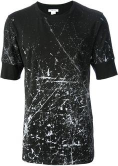 HELMUT LANG Scratch Print Tshirt