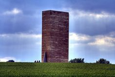 Discover Brother Klaus Field Chapel in Mechernich, Germany: This German art chapel is perfect for those who like their worship hard, modern, and utterly alien. Peter Zumthor, Sacred Architecture, World Religions, Outdoor Art, Art World, Installation Art, 21st Century, Facade, Around The Worlds