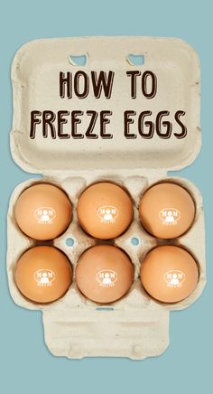 Did you know that you can actually freeze eggs Seriously! There are a few ways that may work for you, it just takes a little trial and error to determine the best way for your needs. Find out how @ Canning Recipes, Egg Recipes, Canning 101, Fresco, Food Prep Storage, Freezing Eggs, Bulk Cooking, Survival Food, Survival Tips