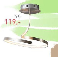 Diese elegante #Deckenleuchte ist ein ganz besonderes Modell moderner #Beleuchtung. Das eingebaute #LED-Modul mit hoher Lichtleistung folgt der organischen Form der #Leuchte. Eine sehr schön gestaltete Leuchte, die garantiert auffällt! #Innenbeleuchtung #lampenundleuchten.at #Pendelleuchte #SALE Christmas Sale, Toothbrush Holder, Holder