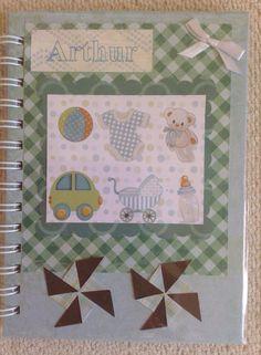 Caderno personalizado, 15 x 20 cm. Luciana Domingos. Lu Capitu