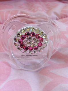 blinged-out pacifier