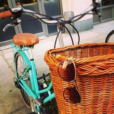 Lunching & biking.☀#
