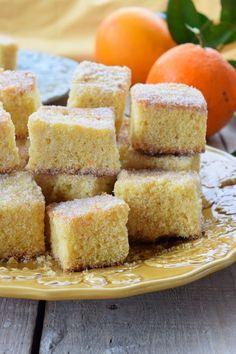 That cake sweet: Quadrados de Laranja