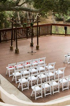 Outdoor ceremony space at The 1909.
