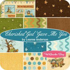 Cherished God Gave Me You Fat Quarter Bundle Leanne Anderson for Henry Glass Fabrics - Fat Quarter Shop