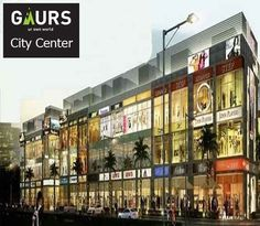 Gaur City Center offers spaces for commercial shops, hypermarkets, office spaces and also for serviced apartments which gives a diversified choice to investors for investing their money as per their budget and requirement