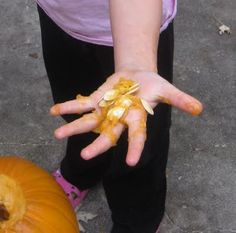 Using pumpkins for a fall object lesson. Scriptures included.