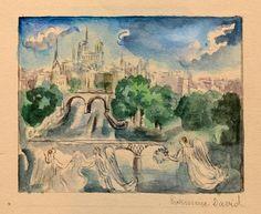 VERLAINE (Paul). Sagesse. Paris, Creuzevault, 1943. illustrations d'Hermine David