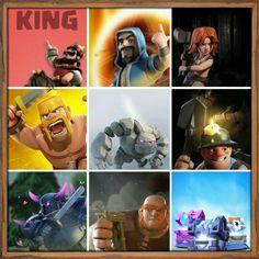 Mes troupes préféré dans clash of clans Si vous voulez rejoignez mon clan  : Playmobil On est un clan niv 10 et bientot 11  Bienvenue a vous