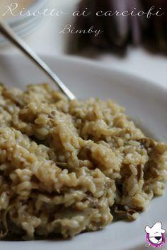 Risotto ai carciofi http://blog.giallozafferano.it/sognandoincucina/risotto-ai-carciofi-ricetta-bimby/