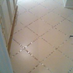 Sparkle instead of grout! from Christa Delgado Design Group
