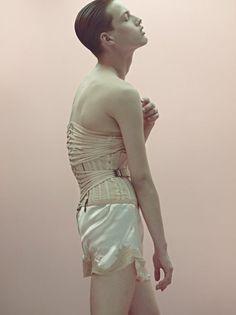 genderqueer male in corset...excellent