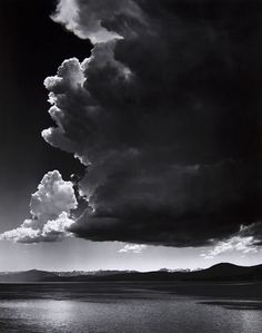 Adams, Ansel (1902-1984) - 1936 Thundercloud | Flickr - Photo Sharing!