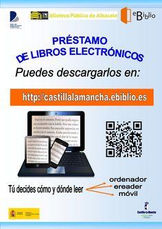 #ebiblio  Plataforma de préstamo de libros electrónicos de la Red de Bibliotecas de Castilla-La Mancha