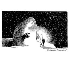 winter surprise - the Groke❄️💙 Tove Jansson, 18th, Winter, Movie Posters, Instagram, Winter Time, Film Poster, Popcorn Posters, Billboard