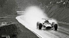 Jacky Ickx (Ferrari) 1er du Grand Prix de France - Rouen les Essarts - 1968 - Formula 1 HIGH RES photos (Old and New) Facebook