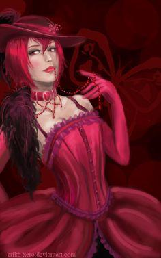 Madame Red by Erika-Xero.deviantart.com on @deviantART