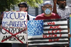 'Occupy Wall Street' protests spread to D.C., Boston, L.A. and Chicago - The Washington Post