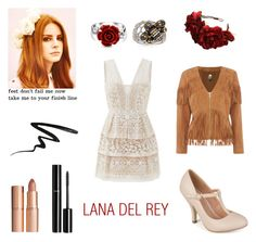 Polyvore outfits fall Lana Del Rey by geminae on Polyvore featuring BCBGMAXAZRIA, Biba, Journee Collection, Ross-Simons, Bling Jewelry, Rock 'N Rose, Charlotte Tilbury, Stila, Børn and Chanel
