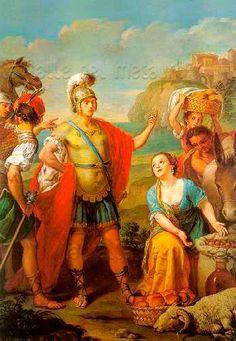 Sebastiano Ceccarini: Davide e Abigail