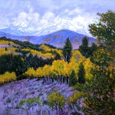 Fall in the Rockies  by John Lautermilch