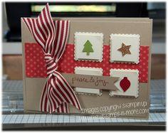 """Kewl""stamps-n-more: Last Xmas card for September :)"