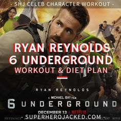 Ryan Reynolds Workout Routine and Diet [Updated]: Train like Deadpool Ryan Reynolds Deadpool Workout, Workout Diet Plan, Michael Bay, Get Ripped, Relentless, Fitness Diet, Workouts, Routine, Abs