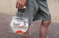 Fish Tank Purse for walking your pet....   # Pinterest++ for iPad #