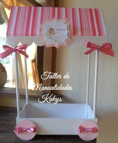 Centros De Baby Shower Crepe | Centros De Mesa Para Bautizos, Baby Shower, Fiestas title=