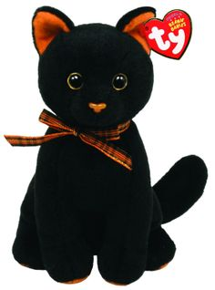 46510567aaf25 Ty Beanie Babies Sneaky the Black Cat Halloween  Amazon.co.uk  Toys   Games