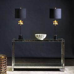 Currey and Company Daystar Table Lamp. A stunning rendition of the star, which is a symbol of completeness in many cultures, the Daystar lamp. Decor, Room, Table Lamp, Crystal Lamp, Gold Leaf, Classic Table Lamp, Light